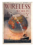 Wireless world  Radios Magazine  UK  1916