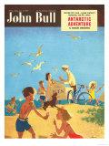John Bull  Holiday Beaches Seaside Ice-Cream Magazine  UK  1950