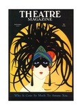 Theatre  Masks Magazine  USA  1920