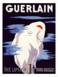 Guerlain, Guerlain Lipstick Make-Up, UK, 1938 Giclée