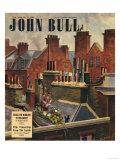 John Bull  Roof Gardens Kittens Watering Magazine  UK  1948