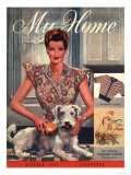My Home  Housewives and Dogs Magazine  UK  1947
