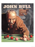 John Bull  Snooker Billiards Pipes Games Magazine  UK  1946