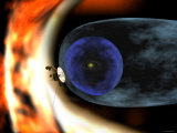 Voyager 2 Spacecraft Studies the Outer Limits of the Heliosphere