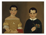 Two Children of Captain Christopher and Mrs Ruth Andrews