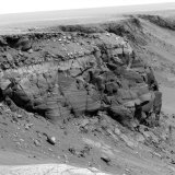 Cliff on the Surface of Mars