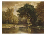 Landscape with Trout Stream  1857