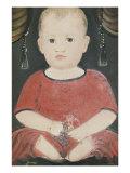 Portrait of Baby Woods  c1840