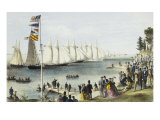 The New York Yacht Club Regatta  1869