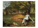 The Cider Orchard, 1848-1910 Giclée par Robert Walker Macbeth