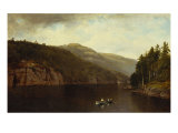 Boating on Lake George  1870