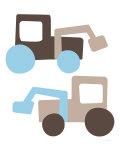 Brown Tractors