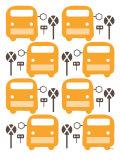 Orange Bus Stop