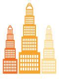 Orange Skyscrapers2