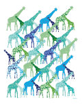 Cool Giraffe Pattern
