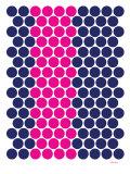 Blue Pink Dots