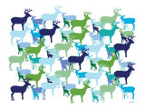 Cool Deer Pattern