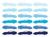 Blue Sportscar