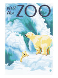 Visit the Zoo  Polar Bear and Cub