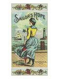 Petersburg  Virginia  Sailor's Hope Brand Tobacco Label