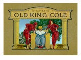 Old King Cole Brand Cigar Inner Box Label