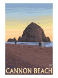 Cannon Beach  Oregon  Haystack Rock View