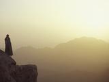 Morning Light on Moses' Mountain Pilgrim  Egypt