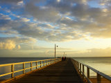 Early Light on Urangan Pier  Hervey Bay  Queensland  Australia