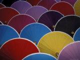 Colorful Umbrellas at Umbrella Factory  Chiang Mai  Thailand