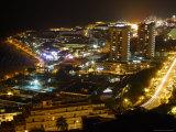 City Overlook  Tenerife  Canary Islands  Spain