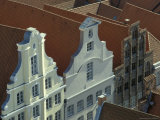 Buildings  Roofs and Facades  Lubeck  Germany