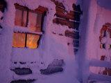 Frozen Window  Lapland  Finland