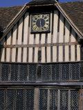 Medieval Moated Manor House  Ightham Mote  Kent  England