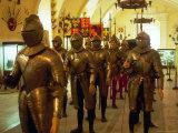 Knights at Grand Master's Palace  Valletta  Malta