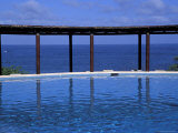 Four Seasons Punta Mita Resort  Beach Vista from Pool  Puerto Vallarta  Mexico