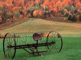 Farm Scene  Vermont  USA