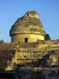 Caracol Astronomical Observatory  Chichen Itza Ruins  Maya Civilization  Yucatan  Mexico