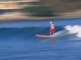 Surfer Rides Waves in the Pacific Ocean  Sayulita  Nayarit  Mexico