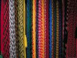 Colorful Hammocks at the Market  Oaxaca  Mexico