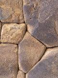 Intricate Rock Wall Detail  Ollantaytambo  Peru