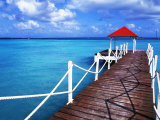 Dock in St Francois  Guadeloupe