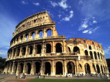 Ruins of the Coliseum  Rome  Italy