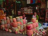Market Scene  Oaxaca  Mexico