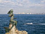 Mermaid Monument at the Glorieta Sanchez Taboada  Mazatlan  Mexico