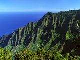 Na Pali Coast  Kauai  Hawaii  USA