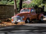 Old GMC Truck During Fall  Santa Barbara  California  USA
