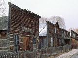 Ghost Town of Nevada City  Montana  USA