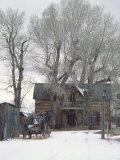 Abandoned House of Nevada City  Montana  USA
