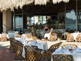Main Dining Room of the El Cid El Moro Hotel  Mazatlan  Mexico