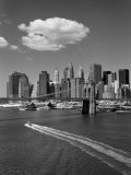 White Cloud over Brooklyn Bridge